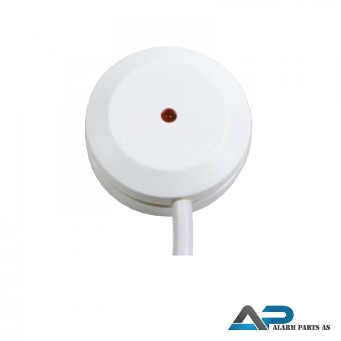 Glassbrudd-detektor relè 3m kabel