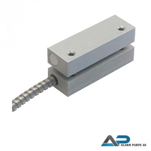 Kraftig aluminiunskontakt høysikkerhet 6m kabel