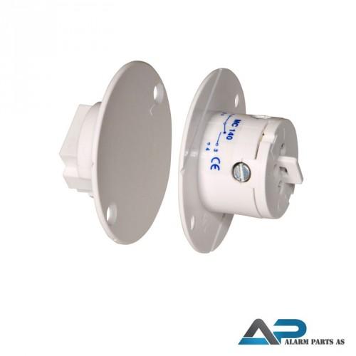 Magnetkontakt for innfelt montering