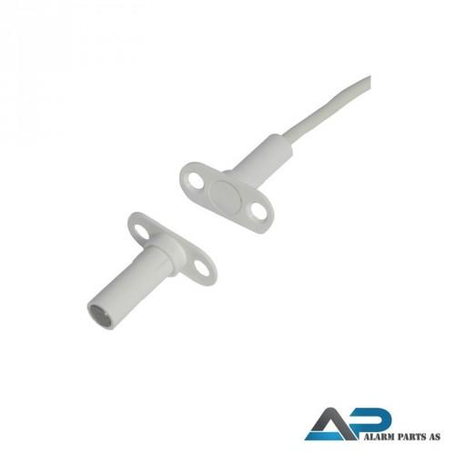 Magnetkontakt for innfelling 10m kabel