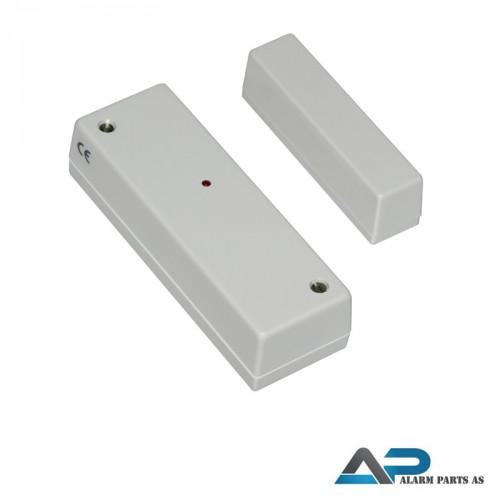 Vibrasjonsdetektor med magnetkontakt