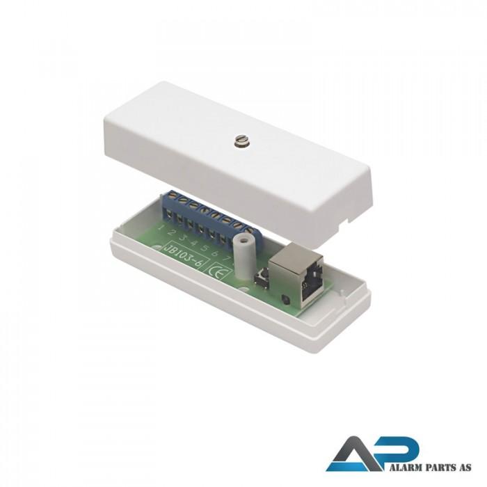 Koblingsboks til glassbrudd-detektor GD330-S_370-S