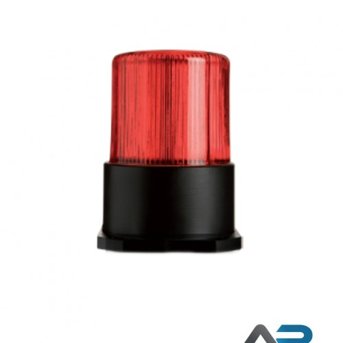 LED Blitzlys med rød linse