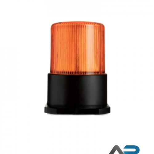 LED Blitzlys med orange linse