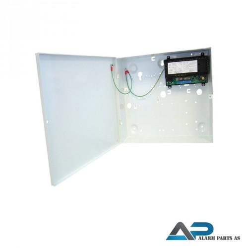 Strømforsyning 12V - 1,5A i metallkabinett