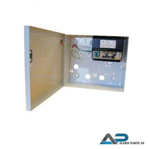 G13801N-A Strømforsyning 12V - 1A i metallkabinett