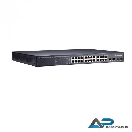 POE2401 Switch 24 porter 400W WEB Management