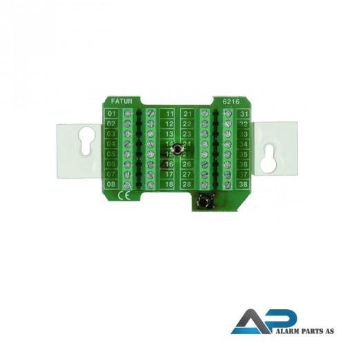 Koblingsplint for montering i veggboks - 10 pakkni