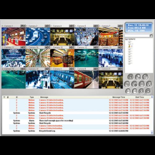 GV-Center V2 - Programvare for kontrollrom, gratis versjon