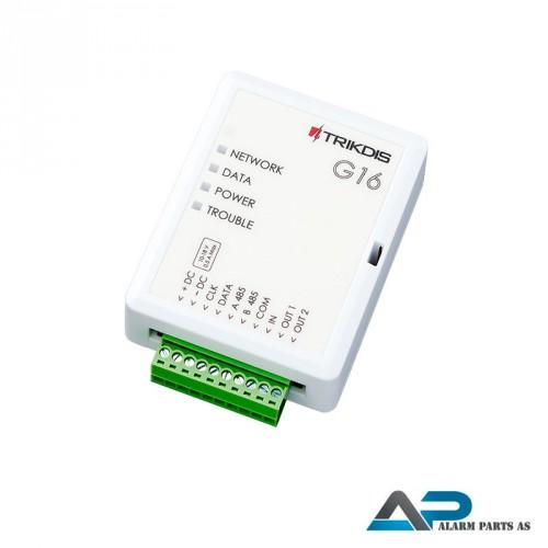 G16 GSM_GPRS kommunikasjonsmodul for Texecom og DS