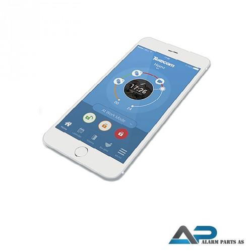 Texecom nye iOS applikasjon