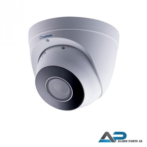 4MP H.265 4x Low Lux WDR Pro IR Eyeball IP Dome