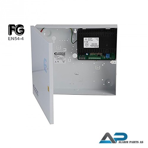 STX2405-E Switch mode strømforsyning 24V - 5A i metallkabinett