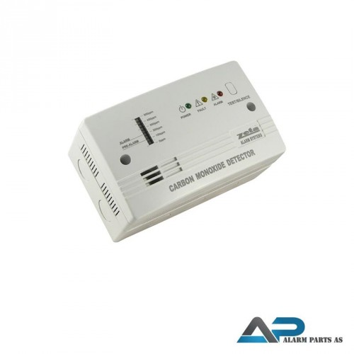 CO 200 CO detektor 9Vdc - 28Vdc eller 230Vac