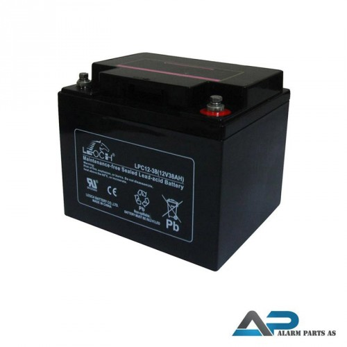 LPL12-38T6 Batteri 12V 38Ah