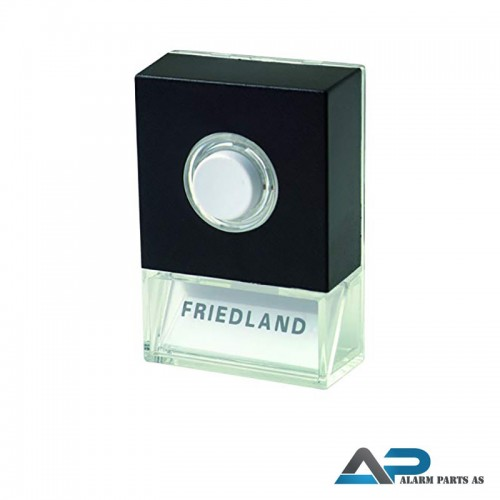 Friedland ringeknapp Pushlite med lys