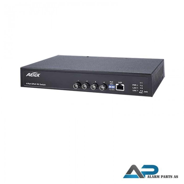 XC10-041-250 EPoC Switch BNC x 4 og 1 LAN port
