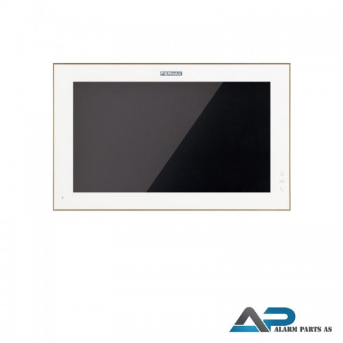 14811 WIT 10_ Svarapparat touch screen PoE- Hvit