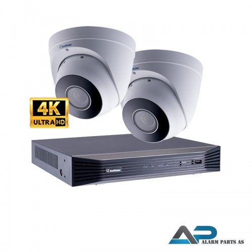 KIT0011 - 8 Kanals 2TB NVR med 2 x EBD8711