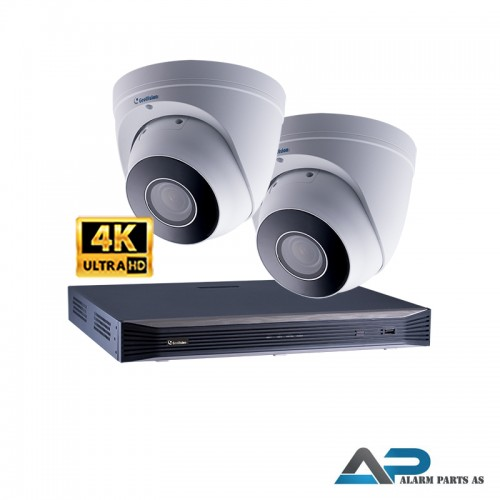 KIT0012 - 16 Kanals 2TB NVR med 2 x EBD8711