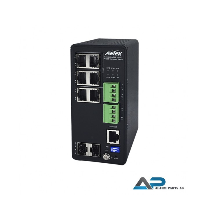 H70-044-60 - Industriell smart gigabit ethernet ON
