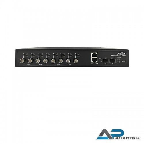 XC10-084-380 EPoC switch 1 x LAN 8 x BNC fpr IP ov