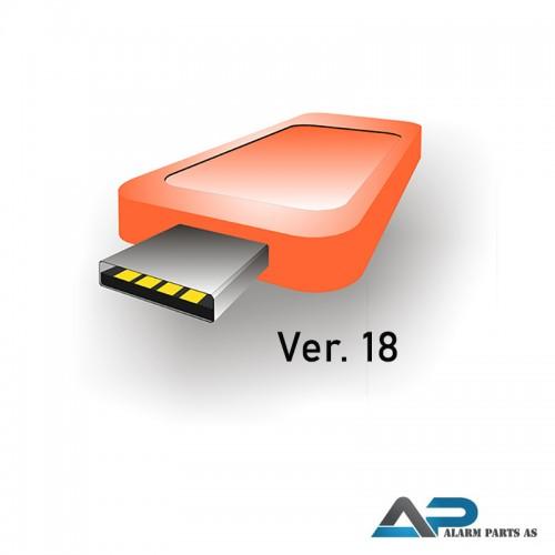 VMSV18-1 32ch. VMS inklusiv lisens for 1 tredjepar