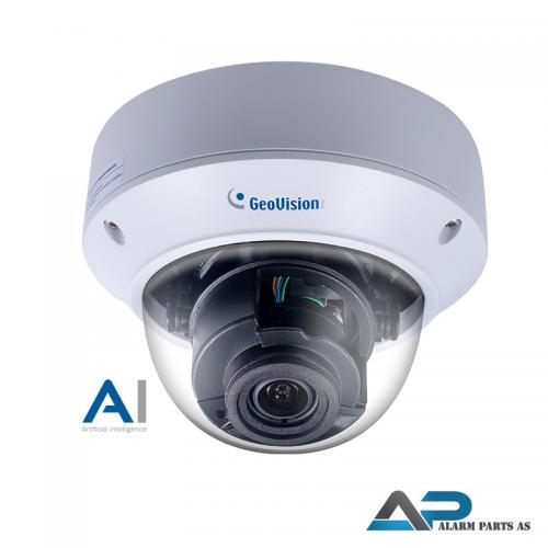 TVD8810 AI 8MP H.265 4,3 x zoom 2,8mm-12mm IP kamera