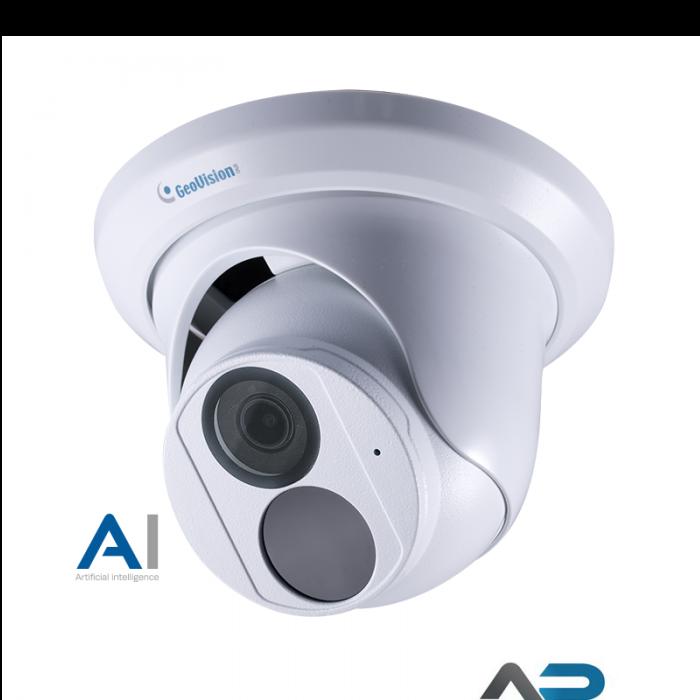 EBD8800 AI 8MP H.265 4,3x zoom 2,8mm-12mm IP kamera