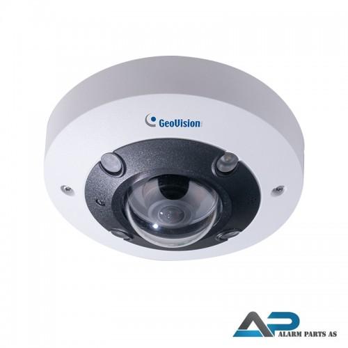 QFER12700 12MP H.265 IP Fisheye kamera